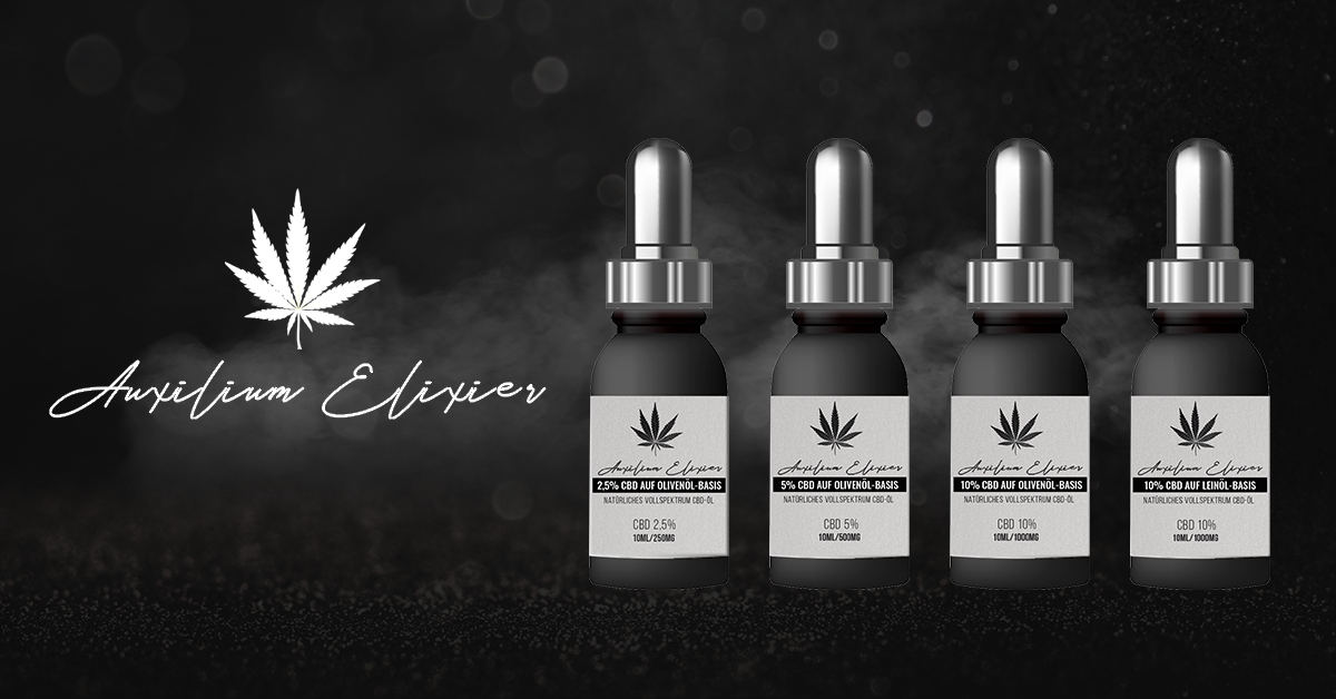 CBD oil set